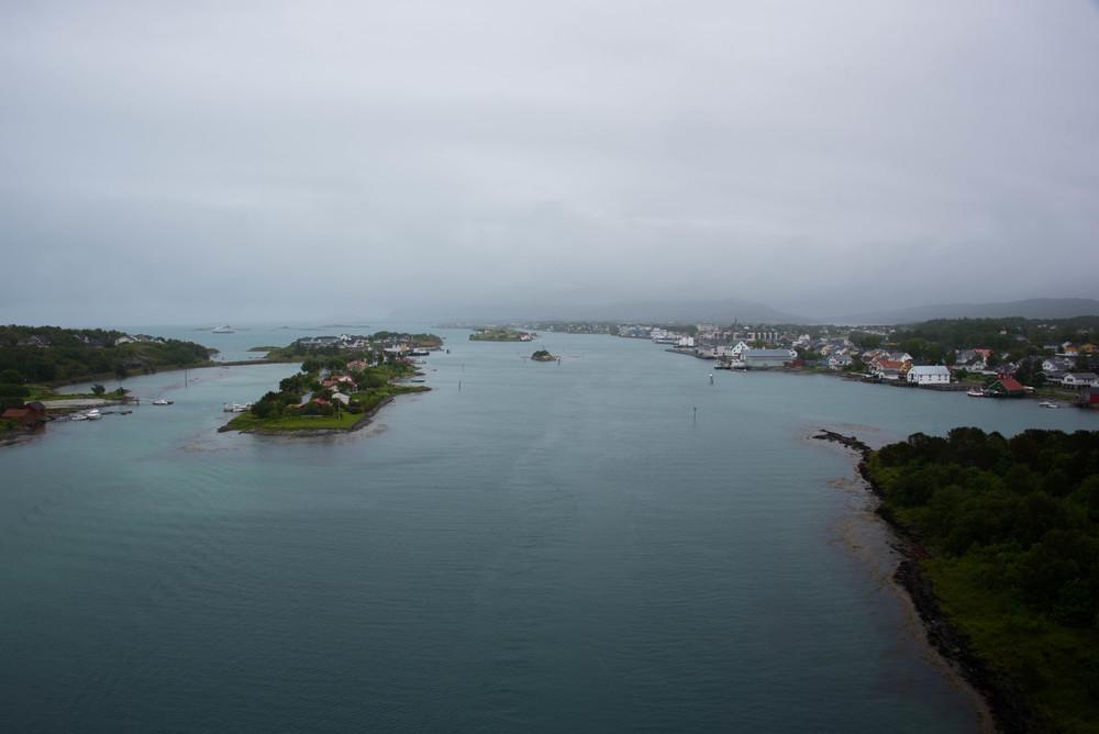 Bilde mot Brønnøysund