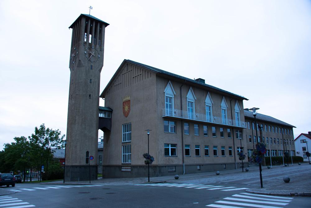 Rådhuset i Bodø, ett knepp opp fra Brønnøysund sitt