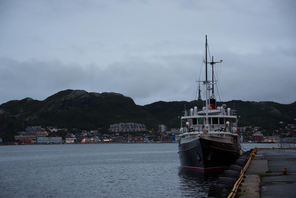 """""""Grace"""" i Bodø havn"""