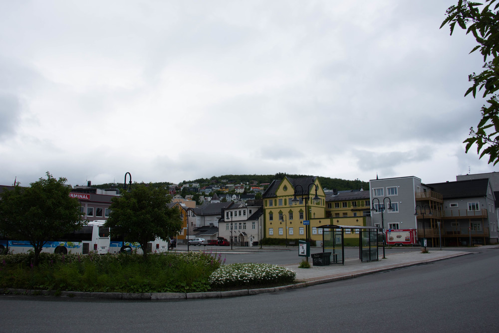 Harstad- stilkaos i bysentrum