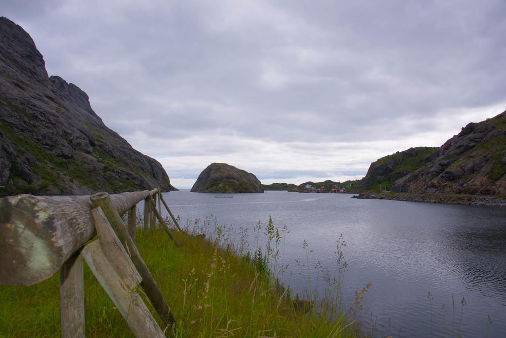 Kulpen innenfor Nusfjord