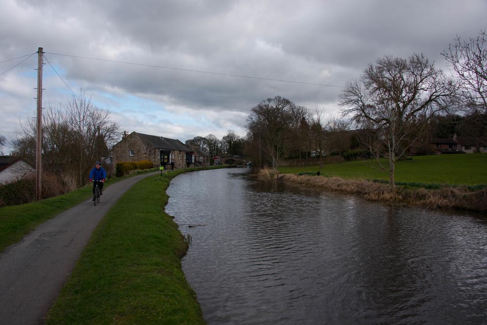 Ganske kult med kanal og fine sykkelveier for folk som liker flate veier