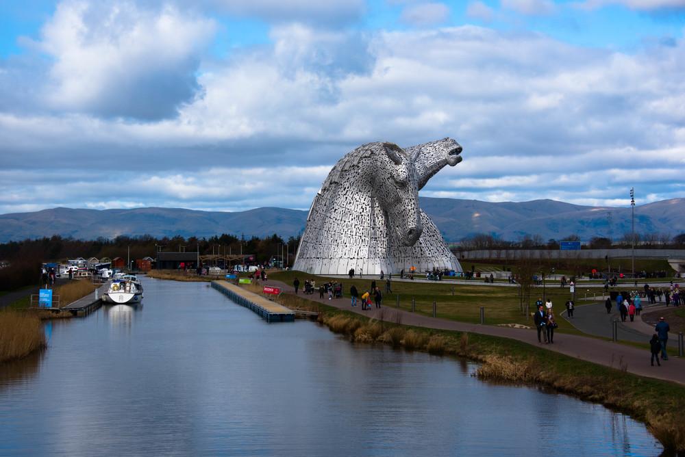 Metallhestene er et av de mest fotograferte motivene i Skottland