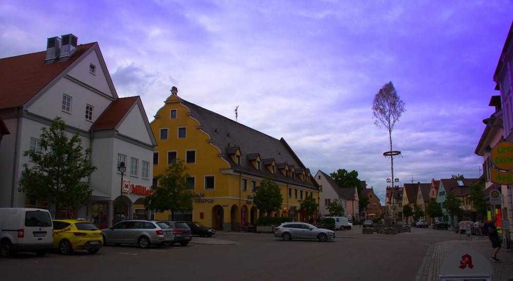 Torget i Wertingen