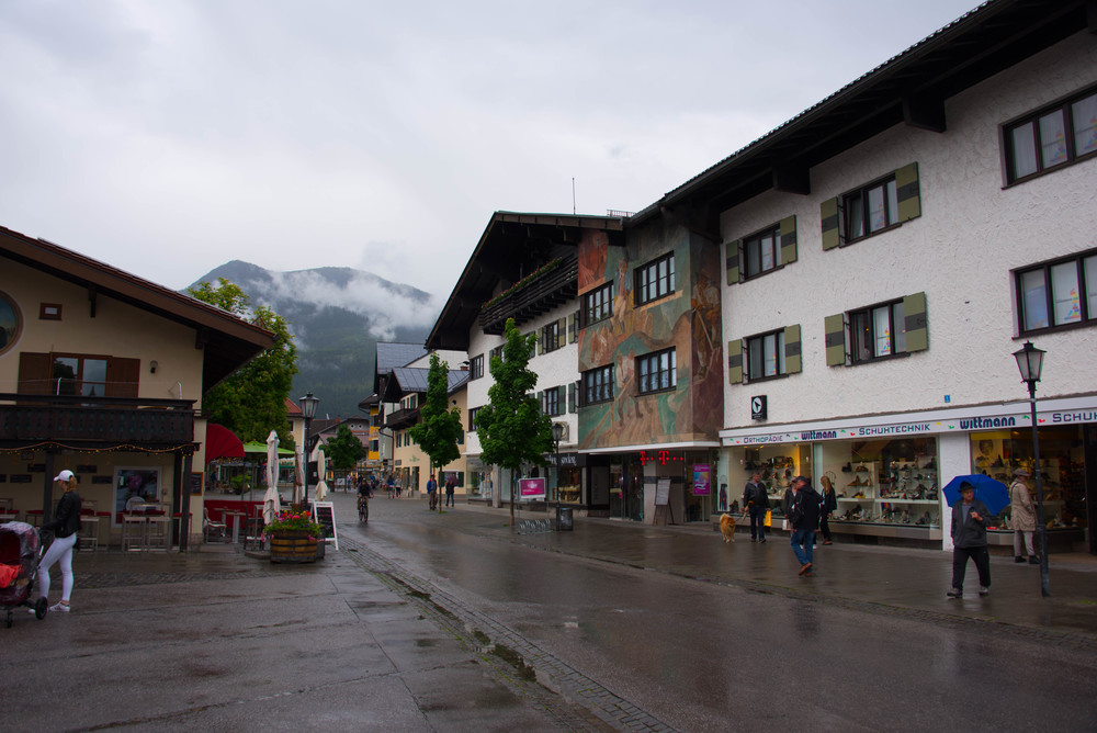 Midt i Garmisch