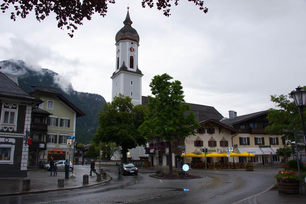 Og enda et bybilde av Garmisch