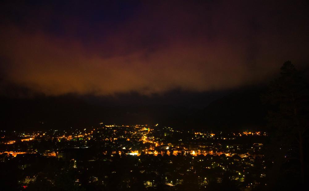Garmisch by night