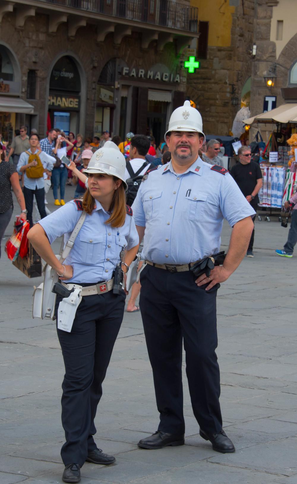 Må ikke være atlet for å være politi i Firenze
