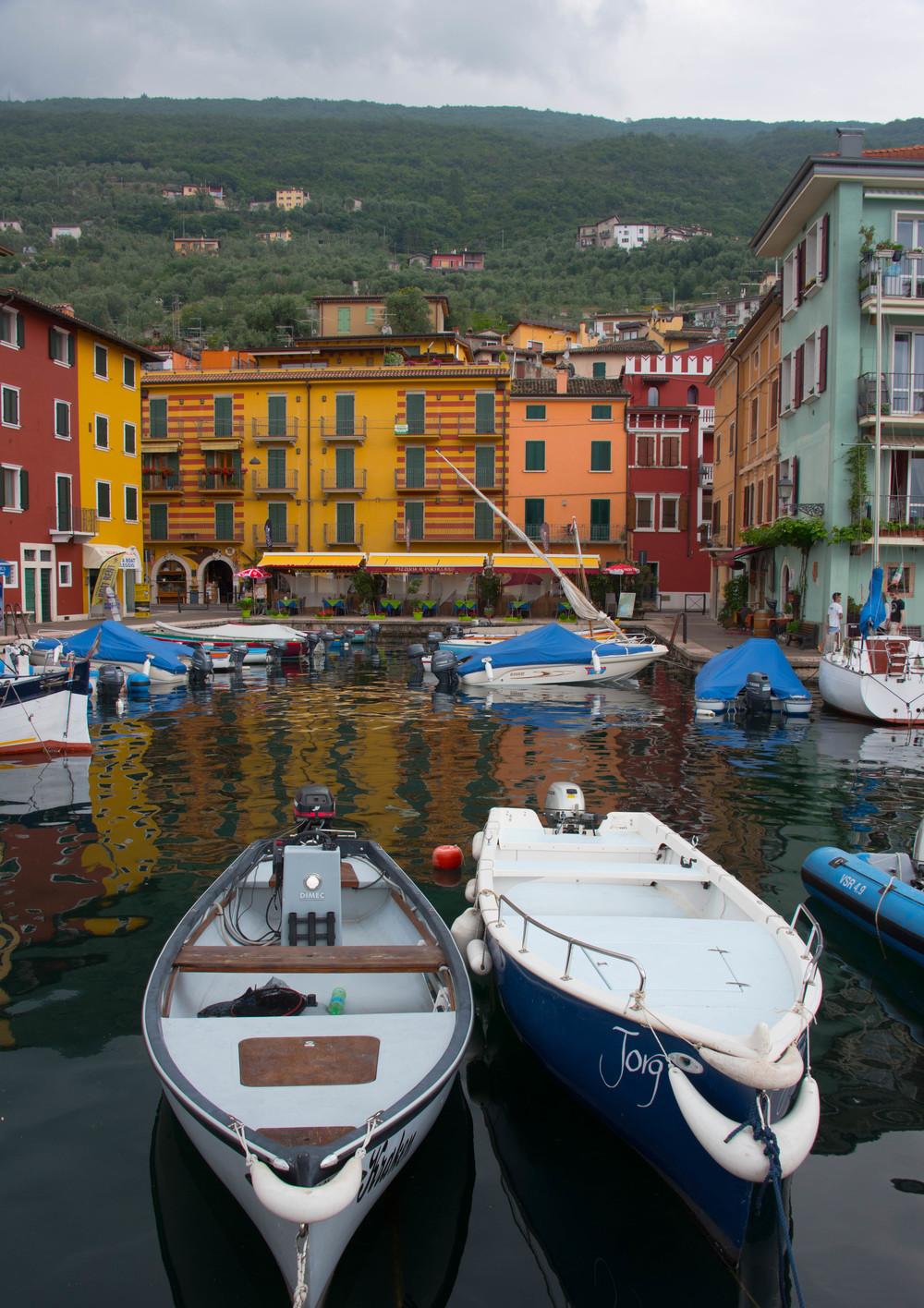 En vakker liten kulp i Brenzone Sul Garda