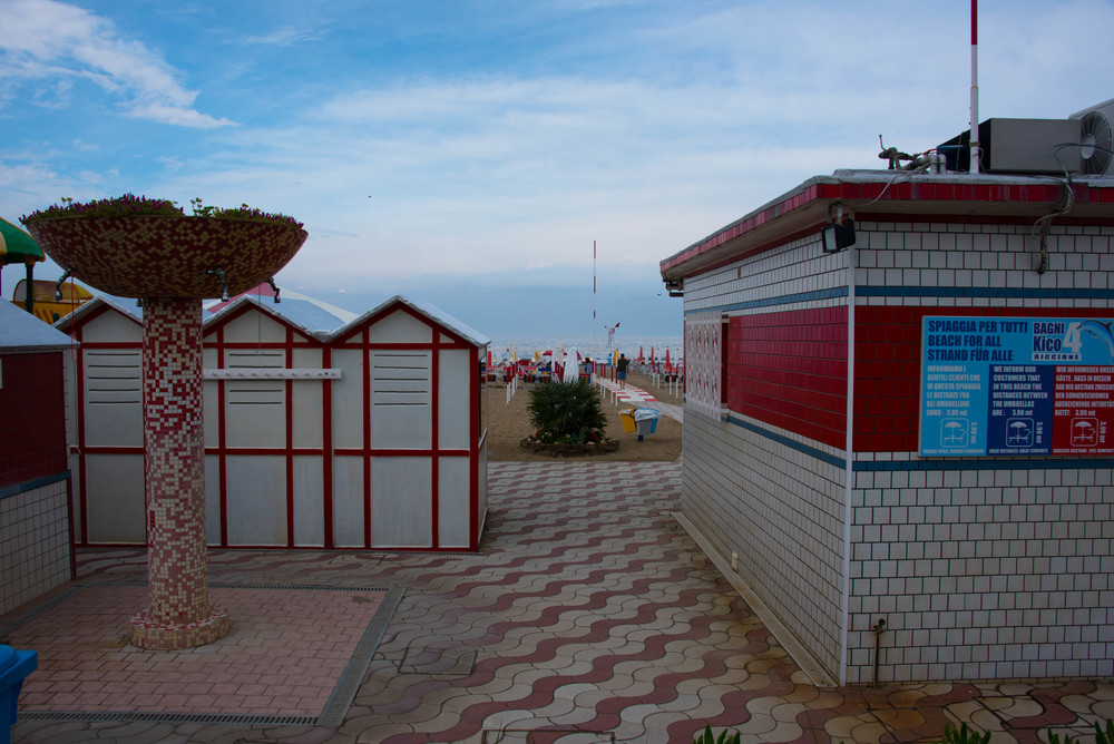 Mer strandpromenade