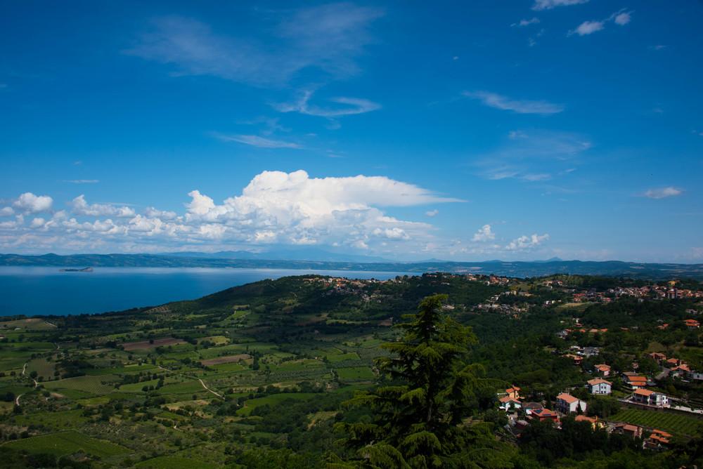 Utsikten fra Montefiascone