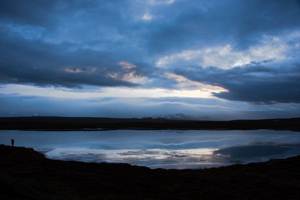 Rett og slett vakkert på vei til Gullfoss