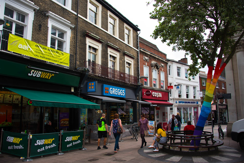 Homo-tre i Norwich