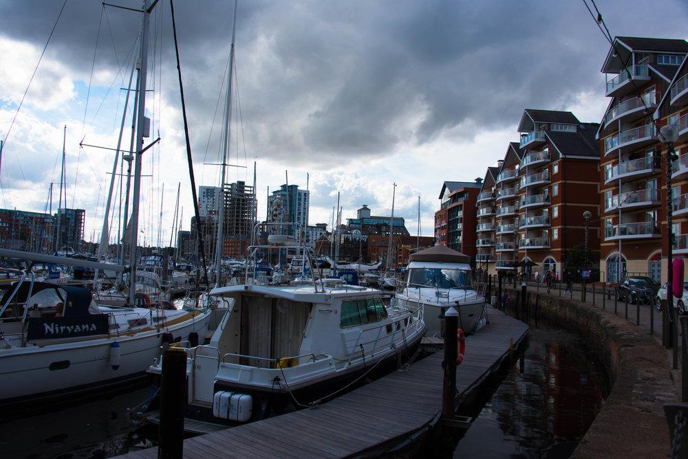 Havna i Ipswich