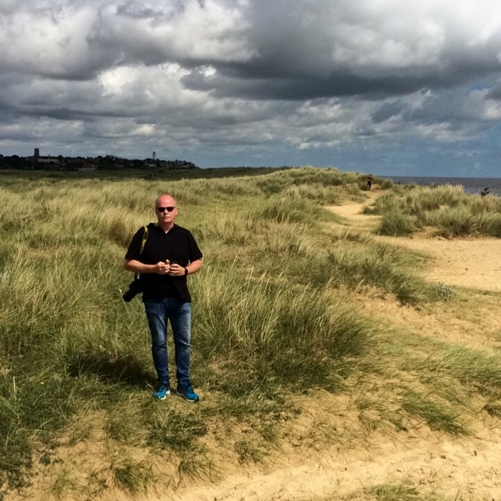 Fotografen på stranda