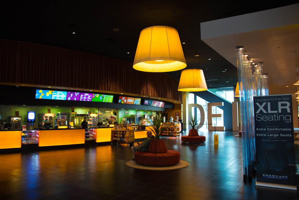 Fancy kino rett ved hotellet