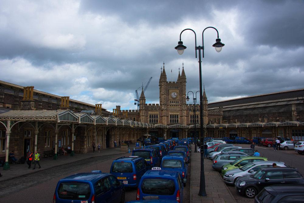 Togstasjonen i Bristol