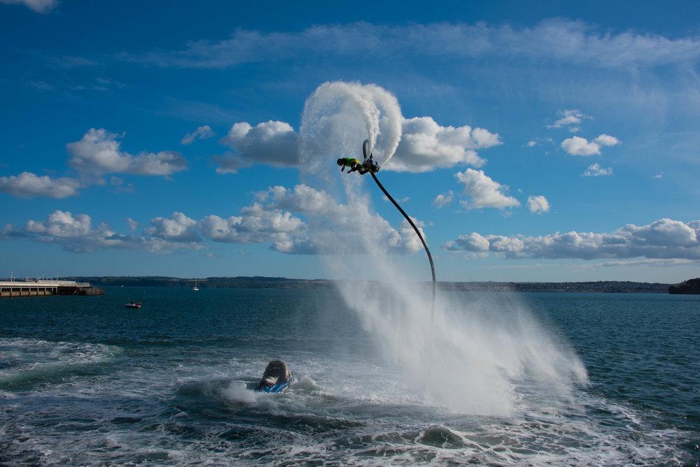 Flyboard i havna