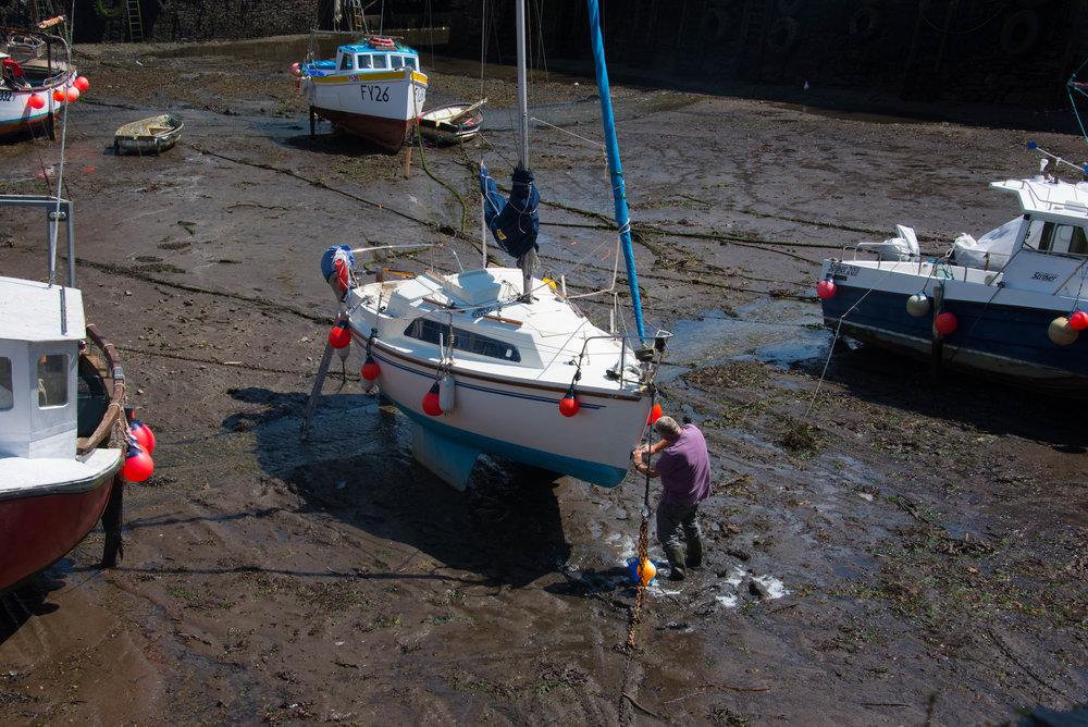 Greit når båten skal fikses