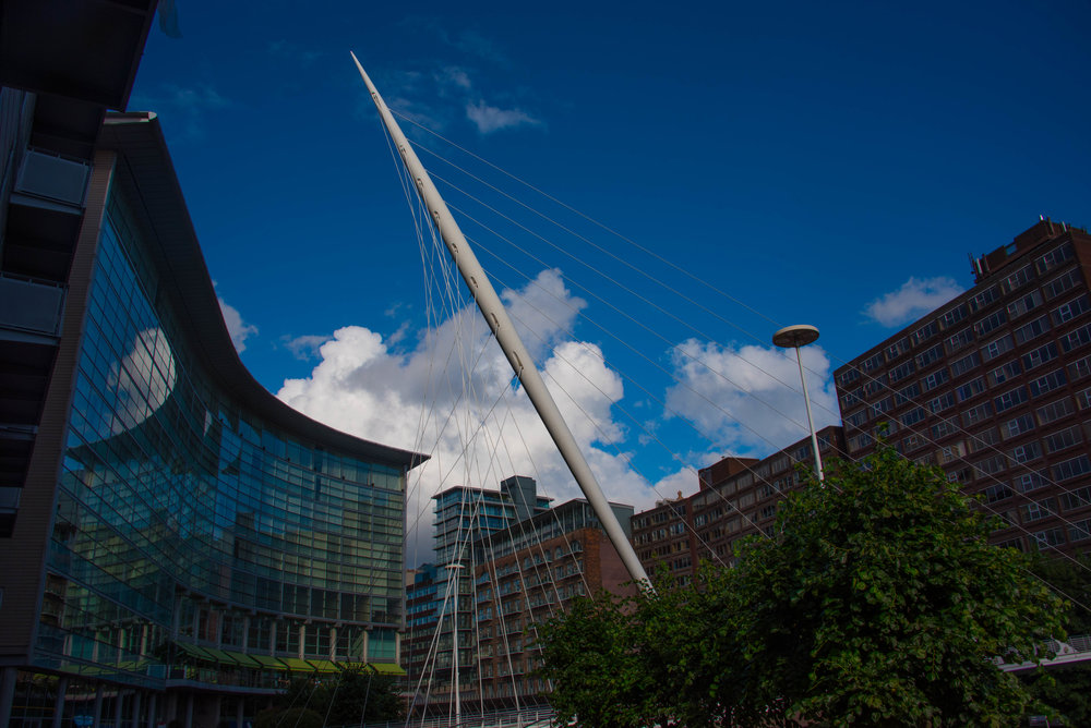 Sprek arkitektur i Manchester