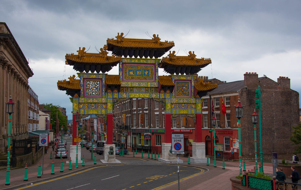inngangen til China Town