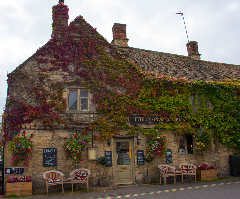 The Cotswold Arm i Burford