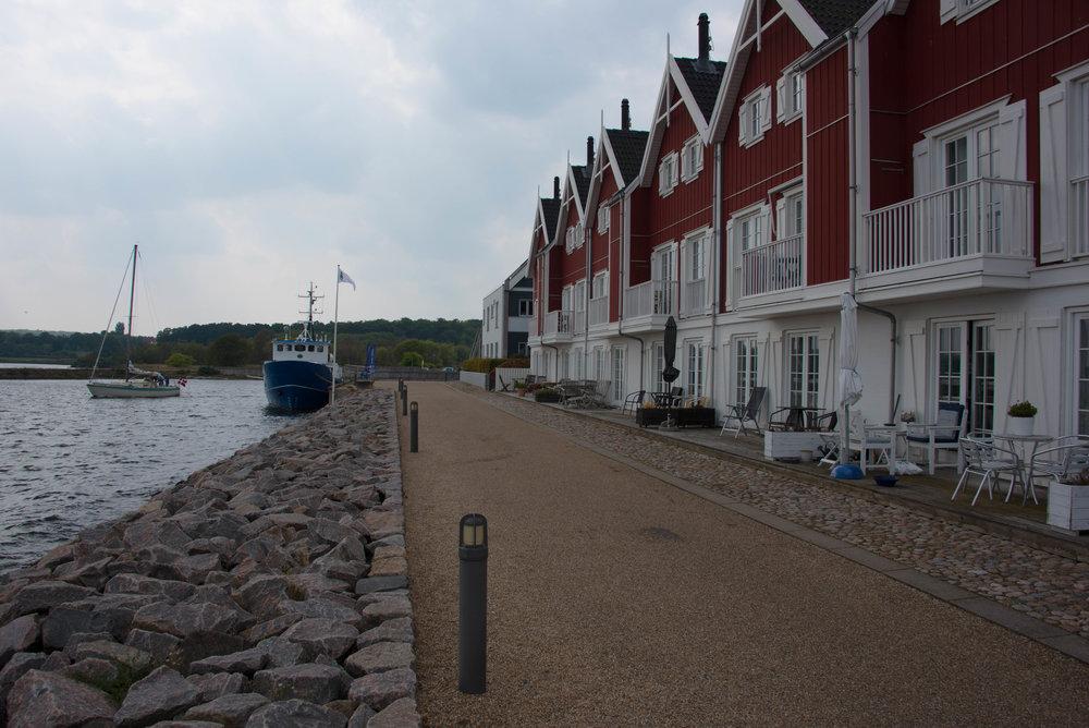 Her i Nykøbing har vi leid hus for 15 år siden