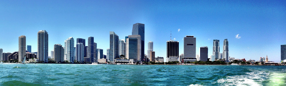 Miami Skyline - photo by  Ines Hegedus-Garcia
