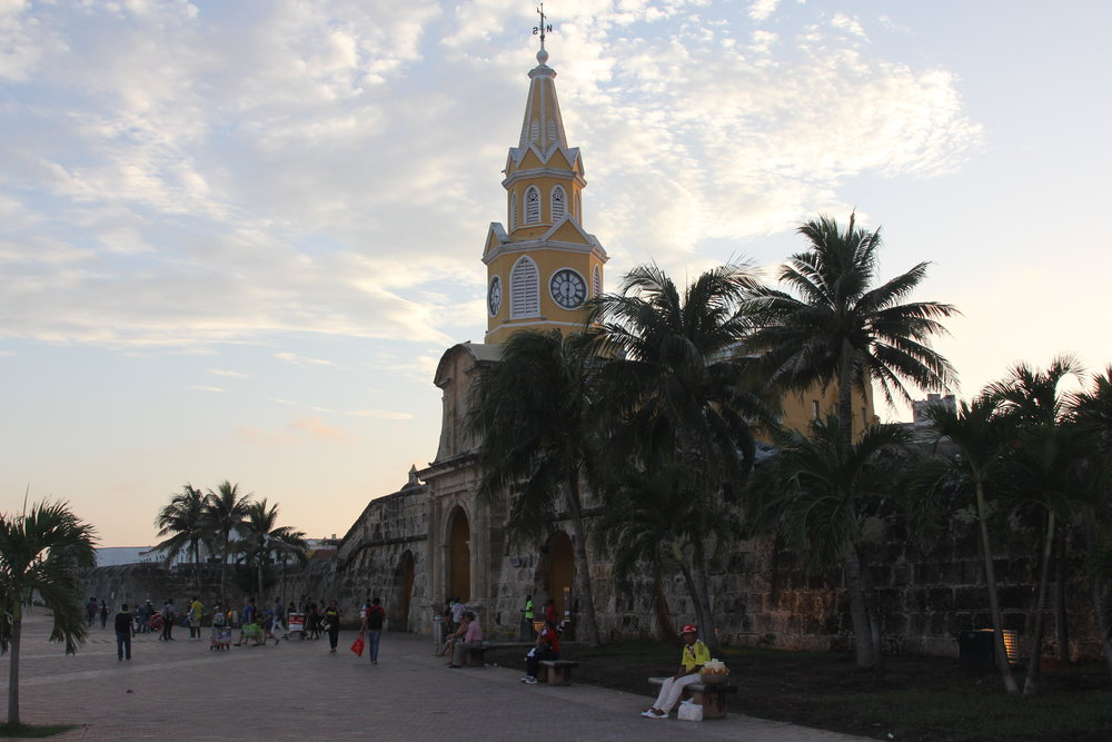 The clock tower in Cartagena that enchanted Gabriel Garcia Marques