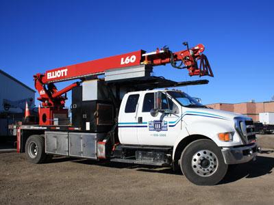 Elliot Crane Truck
