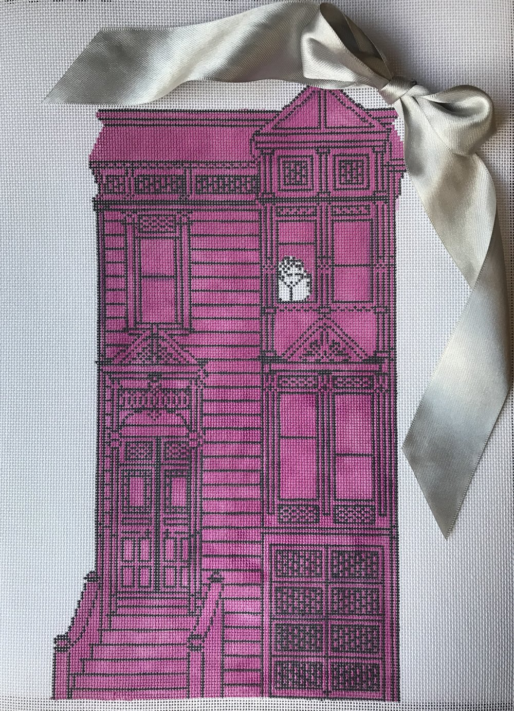 """The Pink Victorian LW-2   12.5"""" x 7"""""""
