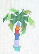 """Palm Tree CP-1A   4"""" x 3"""" on 14 mesh"""