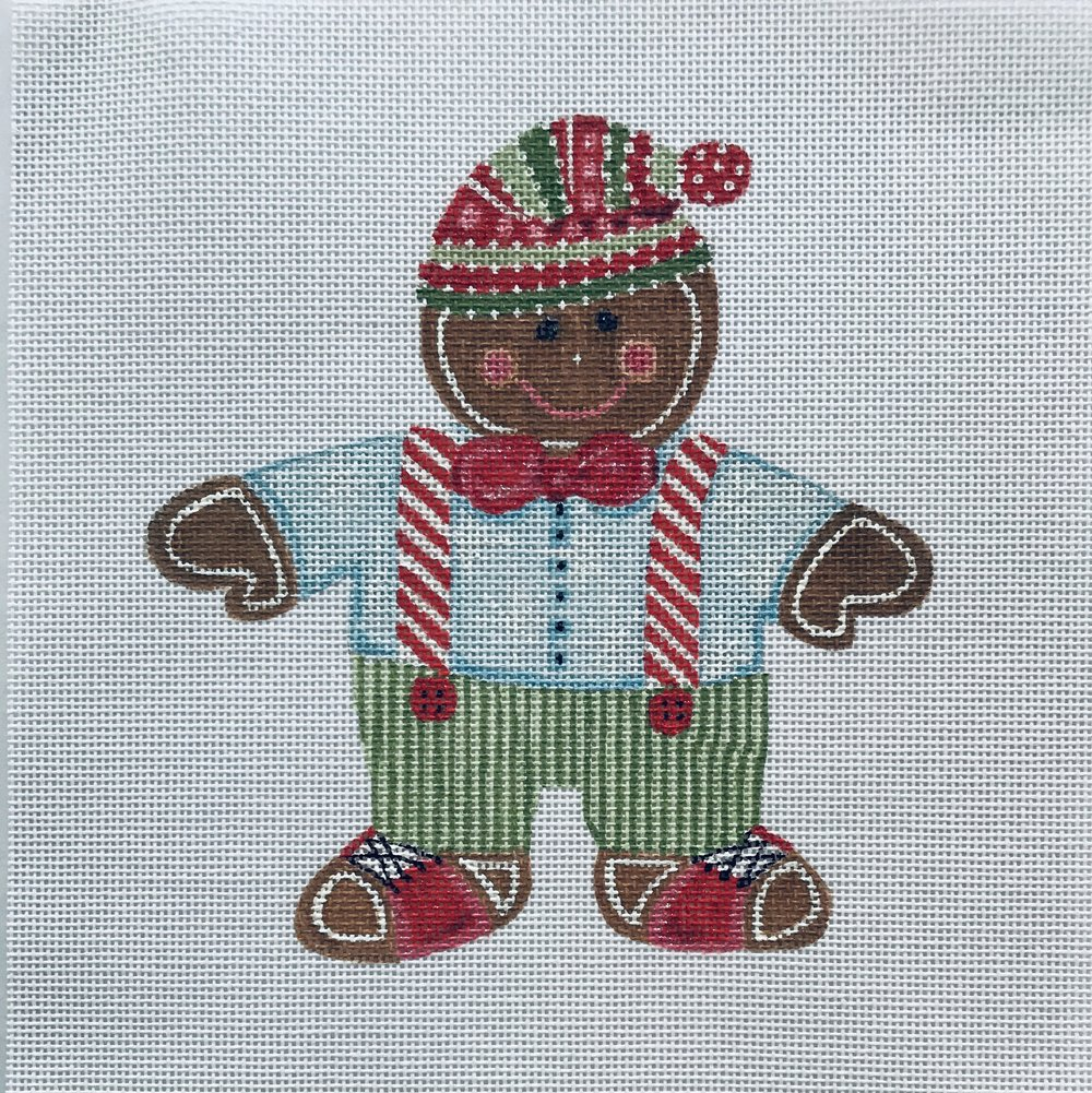 "The No-calorie Christmas Cookie - Fred TSG12   6"" x 6"" on 18 mesh"