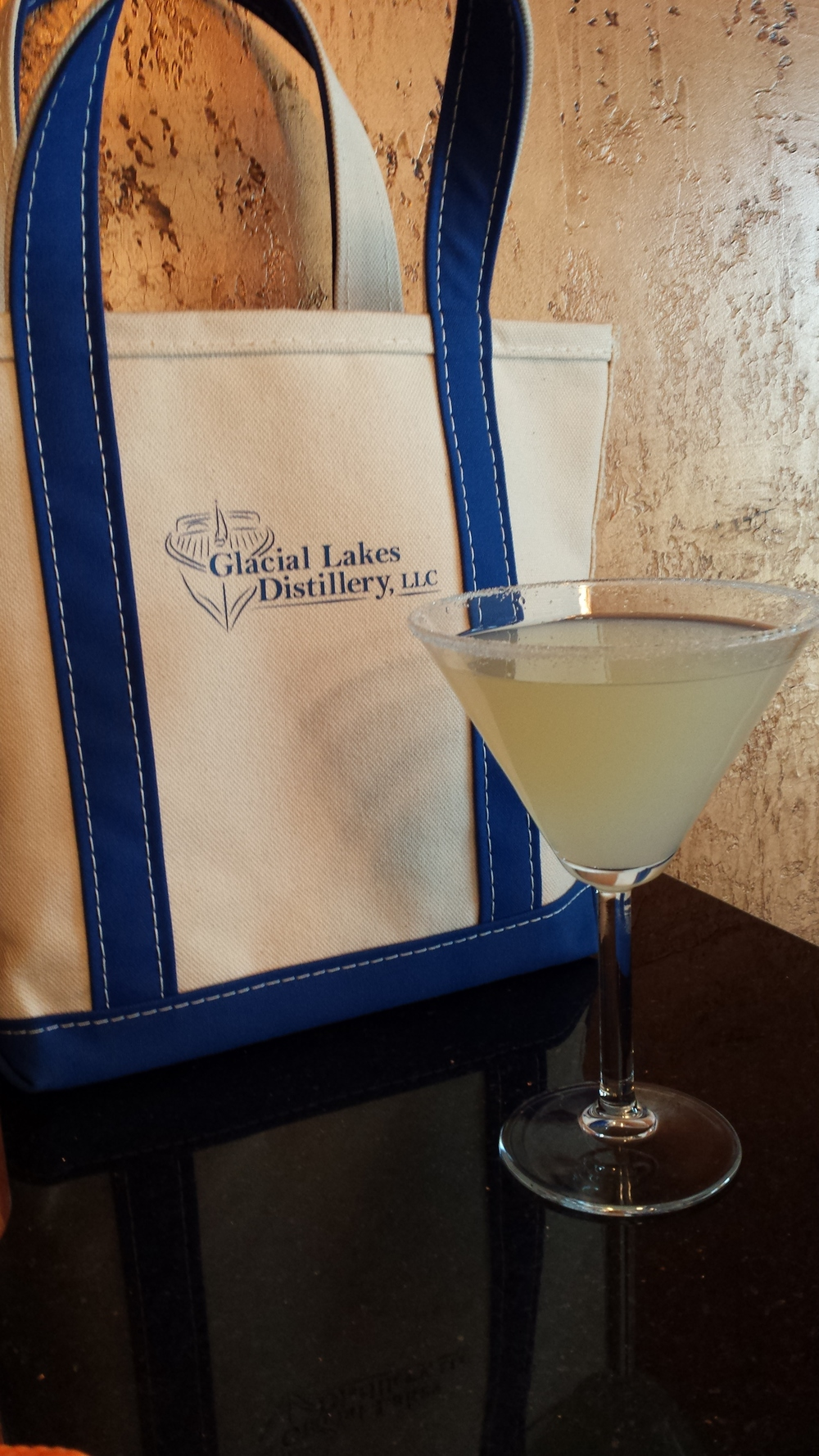 2 OZ Glacial Lakes Vodka   1 OZ Real Lemon Juice   1 OZ Simple Syrup   Rim martini glass with lemon juice and sugar   Shake over ice and pour into glass Enjoy!