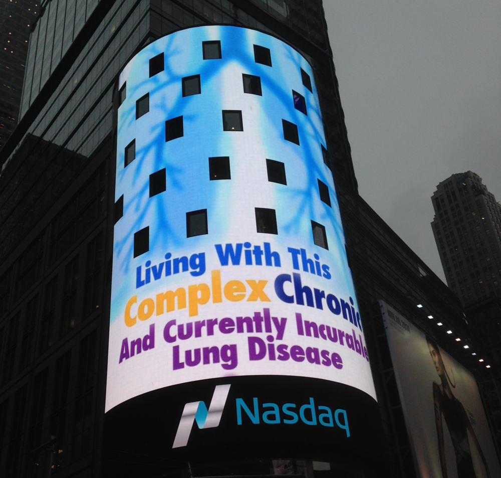 NASDAQ helps phaware kick off PH Awareness Month in NYC.