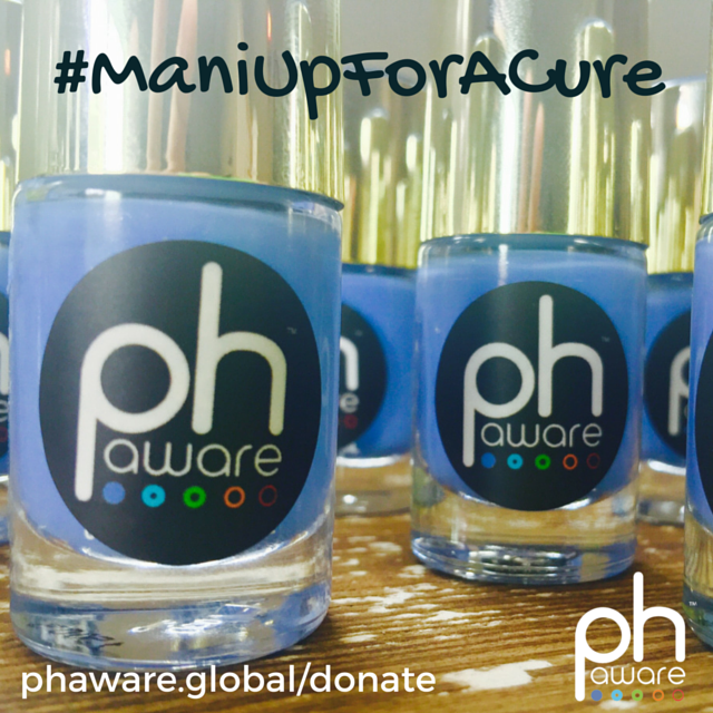 #ManiUpForACure for PH Awareness Month.