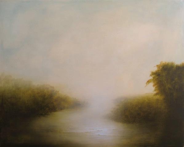 Hiro Yokose   Untitled (5224), 2011 Oil & encaustic on canvas 36 x 45 inches