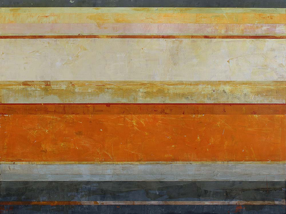 Clay Johnson   Tie Siding, 2016 Acrylic on panel 54 x 72 inches