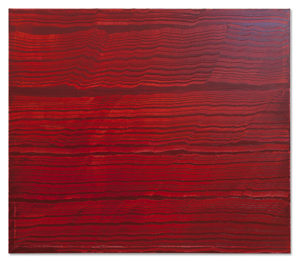 Ricardo Mazal    Violet Red 4, 2017 Oil on linen 71 x 82 inches      For More Information     Artist Biography, Exhibitions & Collections