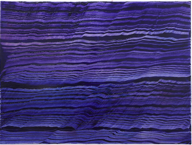 Ricardo Mazal    Violet Blue 5,  2017 Oil on linen 45 x 60 inches       For More Information     Artist Biography, Exhibitions & Collections