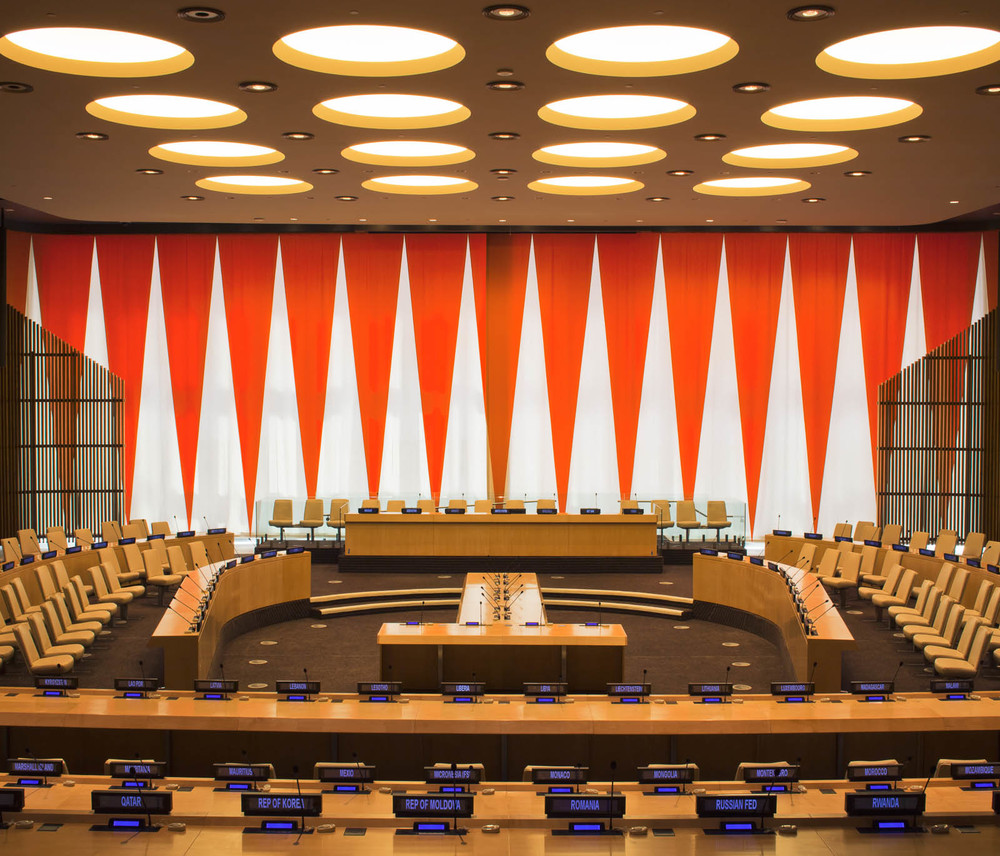 United Nations Headquarters, ECOSOC Chamber
