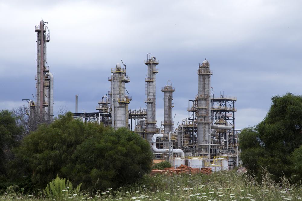 Porto Torres, maggio 2014. Le bonifiche dell'area dell' ex petrolchimico ENI di Porto Torres, chiuso nel 2010, sono legate al progetto industriale di chimica verde Syndial Eni, siglato nel protocollo d' intesa con il Ministero e gli Enti Locali nel maggio 2011.