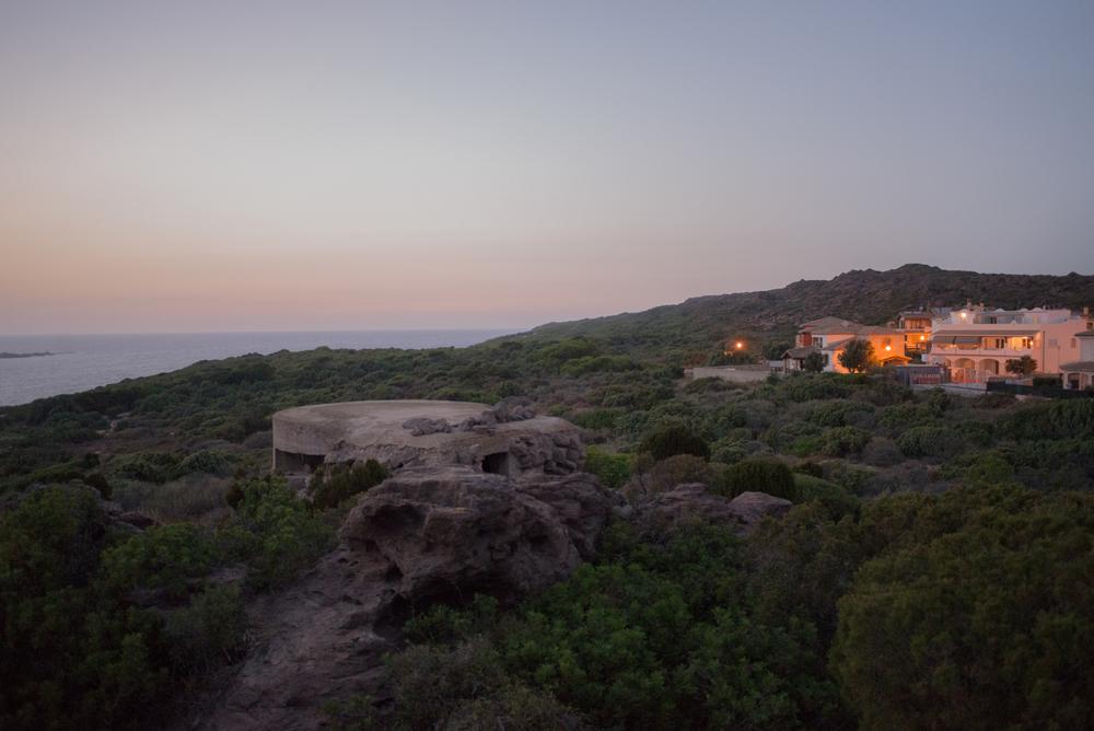 Portoscuso, la costa a poche centinaia di metri a nord del polo industriale.