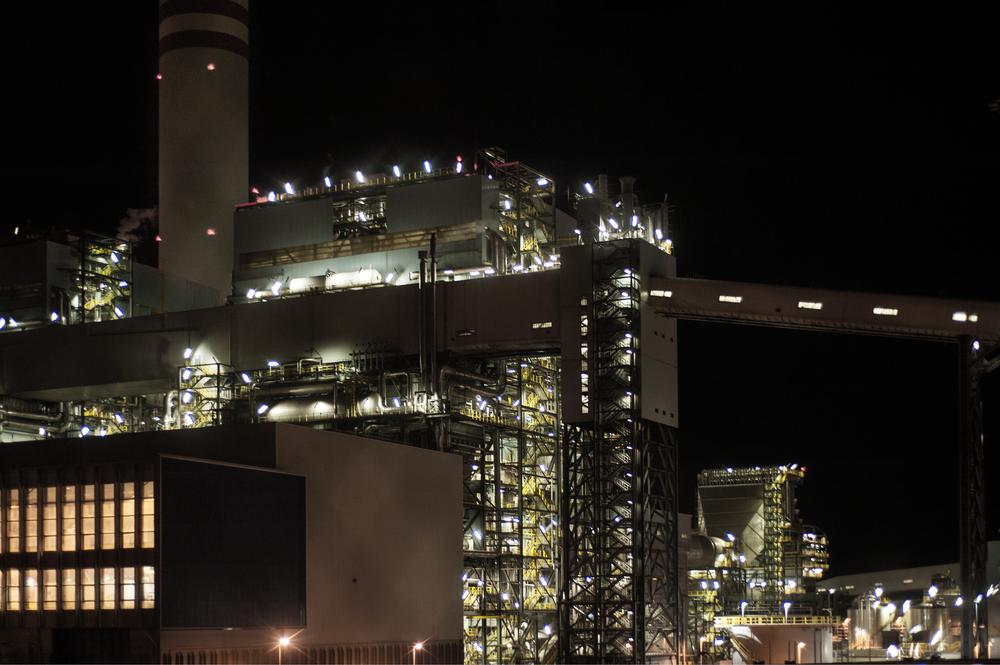 Sono attivi tre gruppi,cioè tre sezioni funzionanti a vapore, ciascuno da 660 Chilowatt all'ora, per una potenza complessiva di 1980 Chilowatt all'ora. (Giulia Morelli)