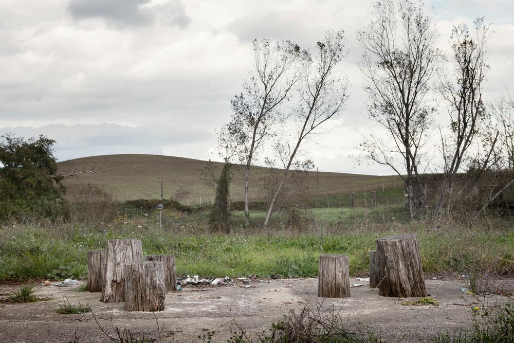 Parco fluviale. Secondo l'associazione A.M.A di Colleferro è stato dichiarato inagibile poco tempo dopo la sua inaugurazione a causa della vicinanza con il fiume Sacco, altamente inquinato.Colleferro, novembre 2013