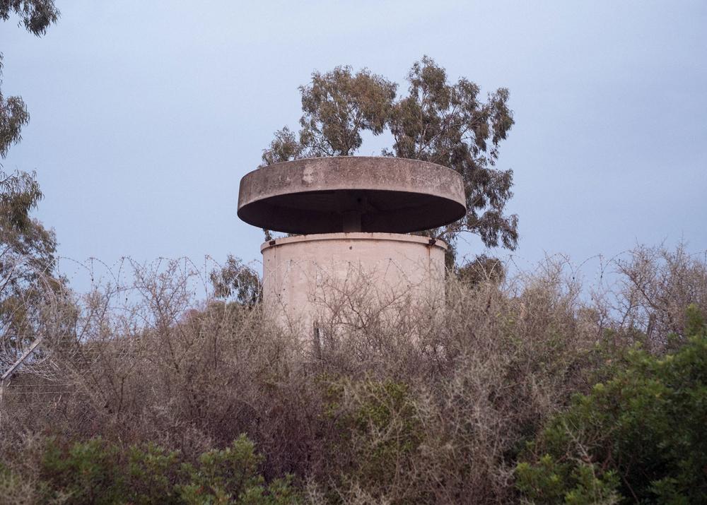 Torretta di guardia, Zona dell'Area H, Murtas, comune di Villaputzu, poligono a mare.