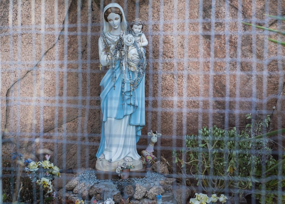 Madonnina del Pane, Murtas, comune di Villaputzu, poligono a mare.