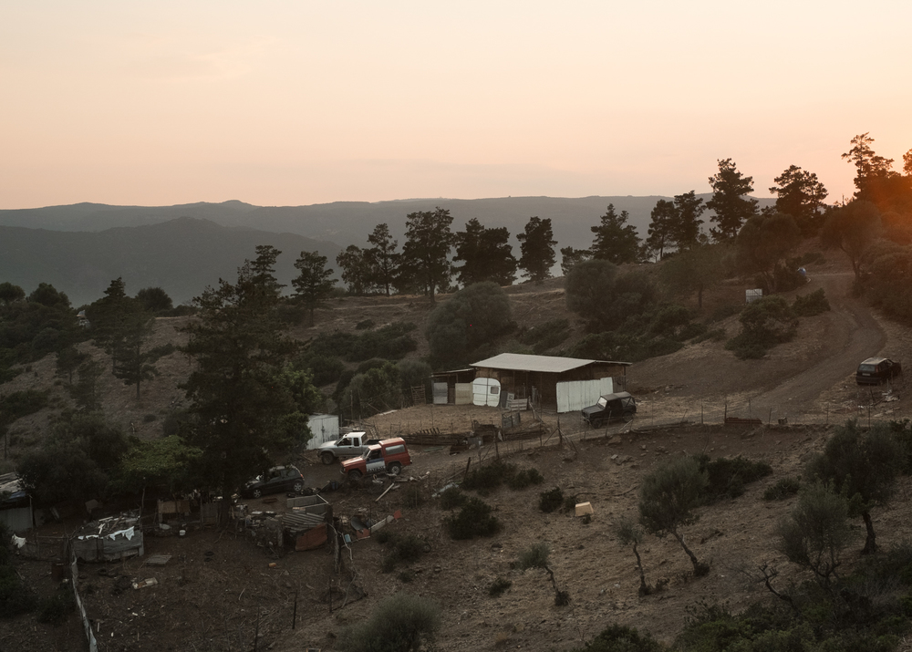 Ovile Piras, S'adroda, comune di Tertenia.