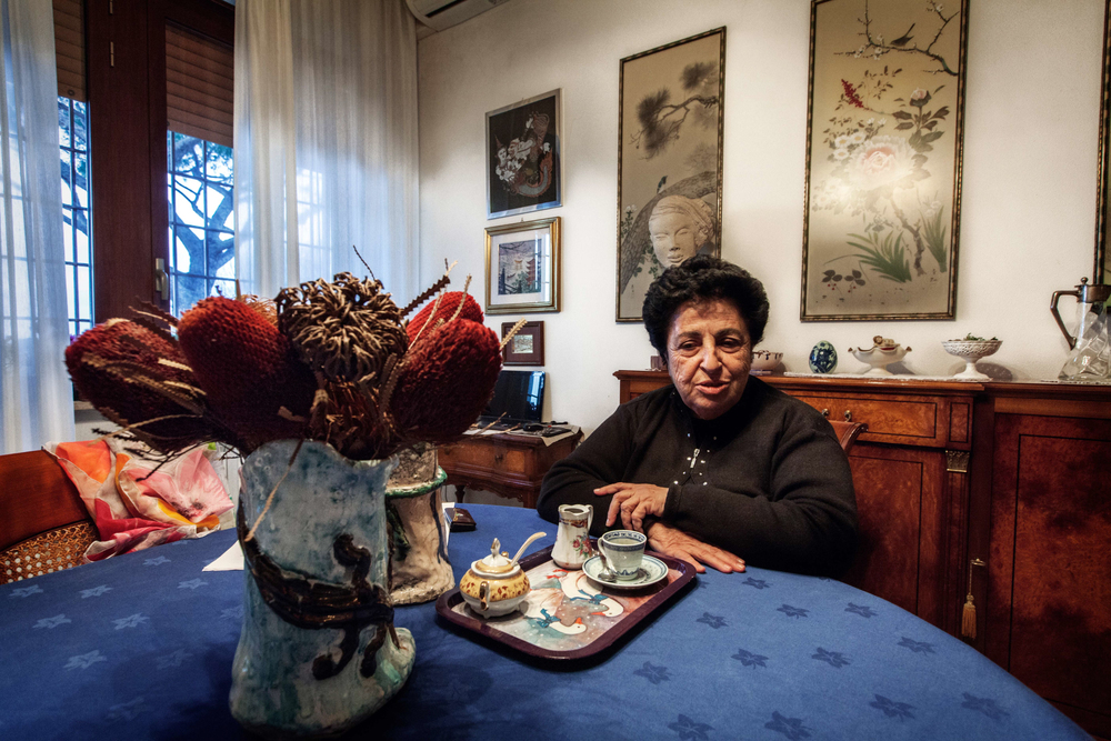 Angela, abitante della Valle Galeria, convive con un tumore da 5 anni