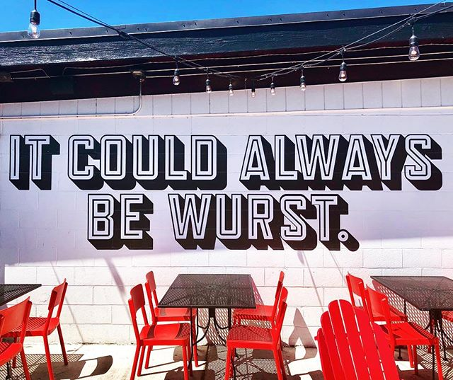 ....am I right?! 🍺🌭 #pdx #wurst